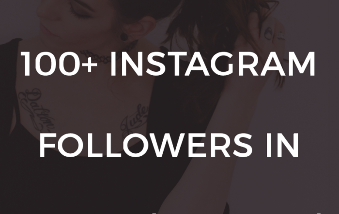 How to Gain 100+ Instagram Followers in 7 Days (or Less!) by @KerriQueen   Use the exact strategy that I used to grow my Instagram following by 100+ in less than 7 days!
